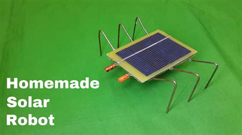 how to make a solar powered fan how to make a homemade solar powered robot toy very easy
