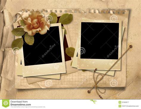 I You Photo Album Big Album Foto Motif il fondo d annata con le vecchie strutture della polaroid ed 232 aumentato