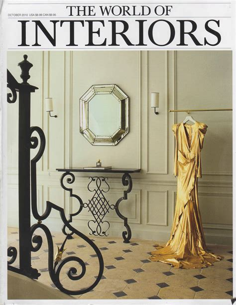 Custom Home Interior Design world of interiors october 2010