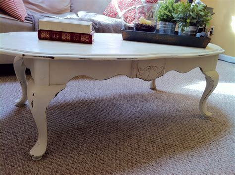 chalk painted coffee tables minimalist chalk paint coffee table applying painted