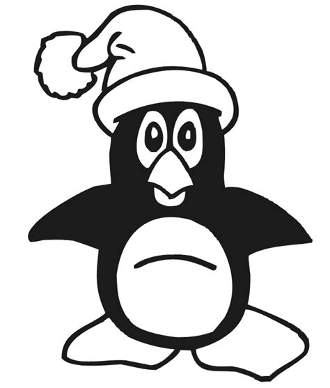 christmas coloring pages penguins christmas penguin coloring pages printable coloring home