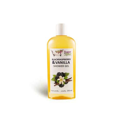 Rasberry Shower Gel 250ml black raspberry vanilla shower gel 250ml sugar and