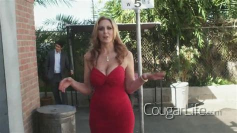 xfinity commercial actress red dress cougarlife com tv spot vicious women ispot tv