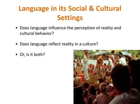 language setting pattern used in society ppt language and society powerpoint presentation id