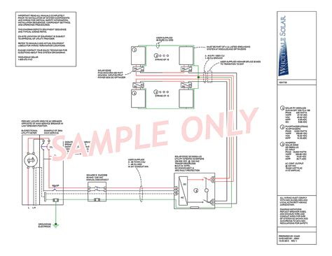 electrical wiring diagram electrical wiring diagrams from wholesale solar