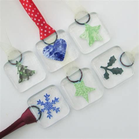 Handmade Glass Tree Decorations - 17 best images about decorative fused glass by blue box
