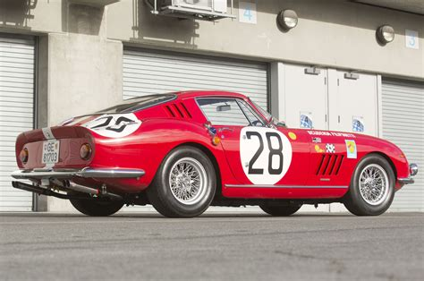 rare ferrari rare 1966 ferrari 275 gtb competizione to be auctioned