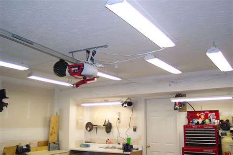 In Lights For Garage 4 Types Of Fluorescent Light Fixtures For A Garage