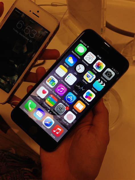 wann gibt es das neue iphone das iphone 6 6 plus das neue apple smartphone nach dem