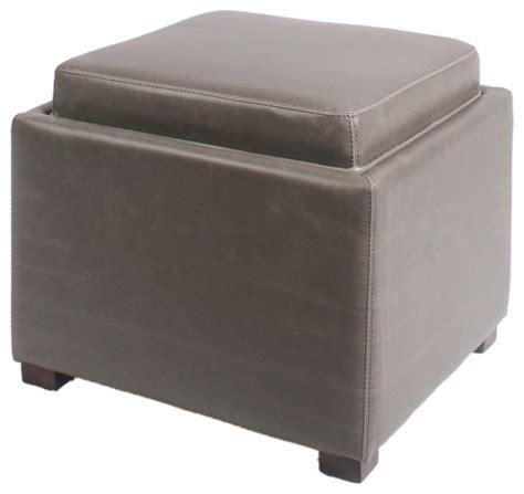 square ottoman tray new pacific direct inc cameron square bonded leather