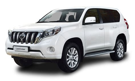 toyota vehicles toyota land cruiser white car png image pngpix