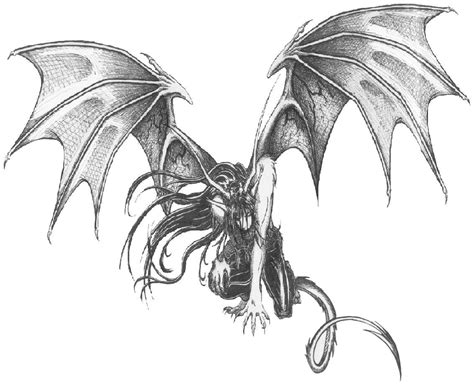 demon dragon tattoo designs images for tatouage