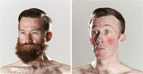 head shave before and after hilarious before and after shaving looks for movember