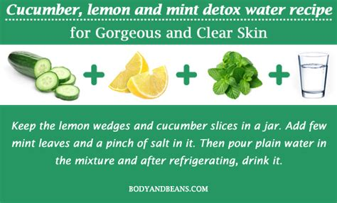 Best Detox Water For Clear Skin by 13 Detox Water Recipes To Get Gorgeous And Clear Skin