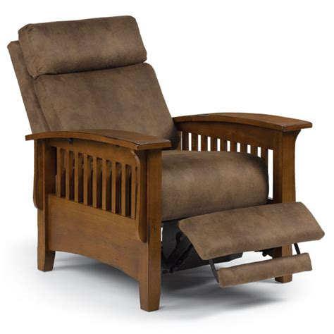 tuscan mission recliner home envy furnishings custom