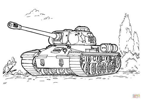Army Tank Coloring Pages 4 Picture To Pin On Pinterest Army Tank Coloring Pages