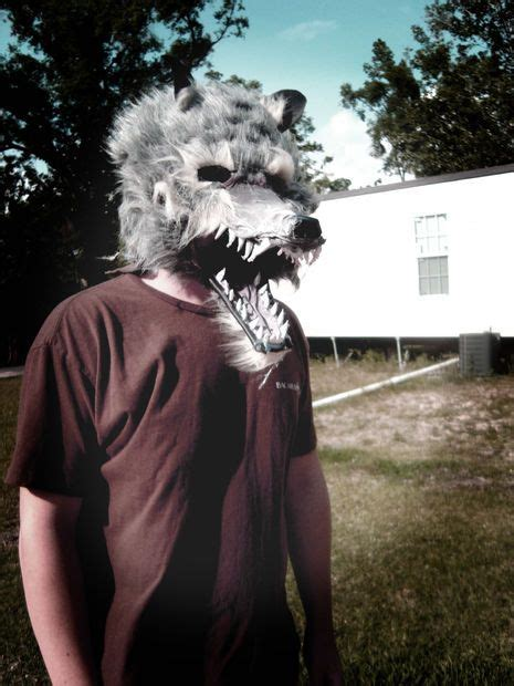 How To Make A Wolf Mask Out Of Paper - how to make a mask pictures of wolves and