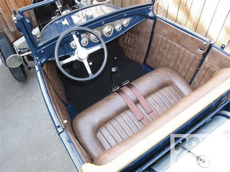 Model A Ford Upholstery by Ford Model A Upholstery