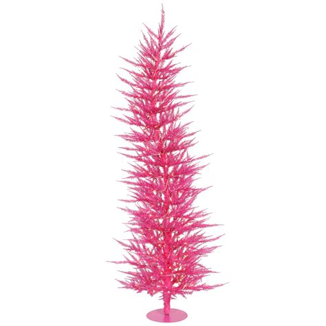 4 ft pink tree pink mini lights wispy bendable 48 quot fun dr
