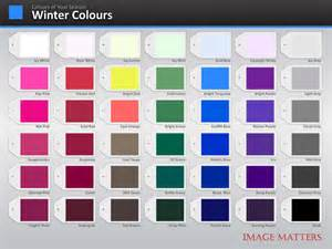 winter color palette colour palette image matters asia