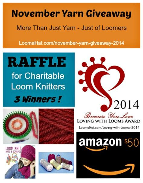 Yarn Sweepstakes - loomahat com page 10 of 18 free loom knitting patterns and video tutorials