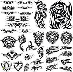 纹身花纹图案 素材公社 tooopen com