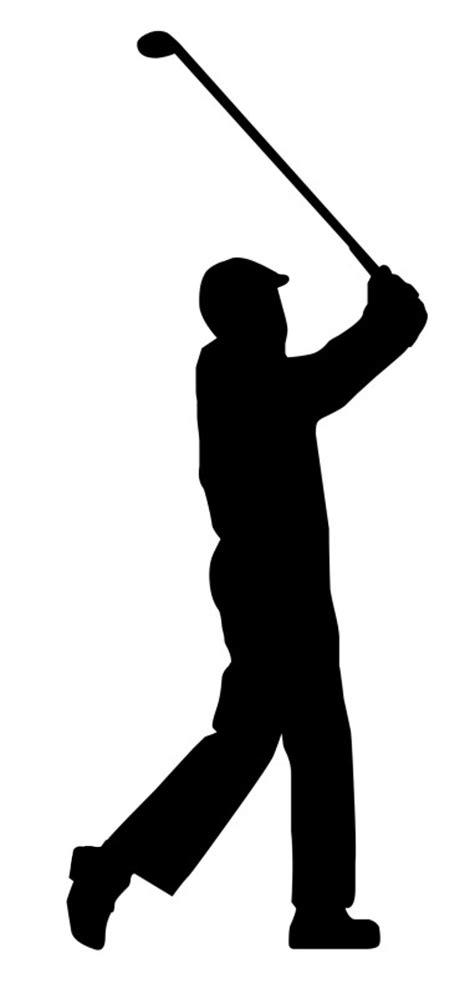 golf swing clip art golfer clip art black and white