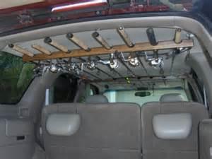 rodhauler 8 fishing rod pole carrier rack holder