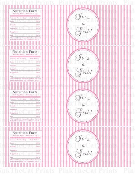 templates for water bottle labels baby shower 1000 images about printable on pinterest party