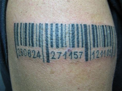barcode tattoo designs barcode tattoos designs ideas and meaning tattoos for you