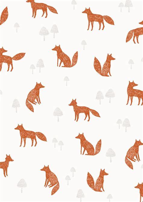 fox pattern pinterest fox pattern illustrations pinterest