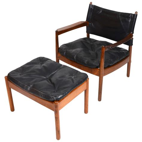 Armchair With Stool by Armchair With Stool By Gunnar Myrstrand For K 228 Llemo Sweden 1960s Sj 246 Str 246 M Antik