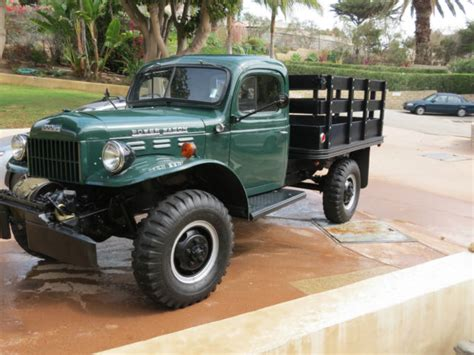 dodge 1954 power wagon restored collector quality for