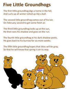 groundhog day song free groundhog day roll and cover preschool product from