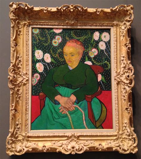 met painting 187 vincent gogh la berceuse 1889 via observed