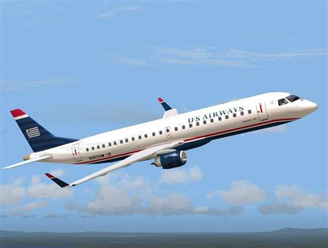 Window Seat Design us airways express embraer 190 lr for fsx