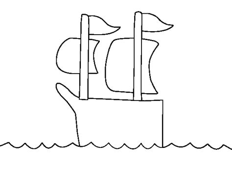 barcos para pintar on line desenho de barco no alto mar para colorir colorir