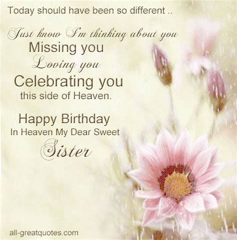Deceased Birthday Quotes Sister Birthday Quotes For Deceased Quotesgram