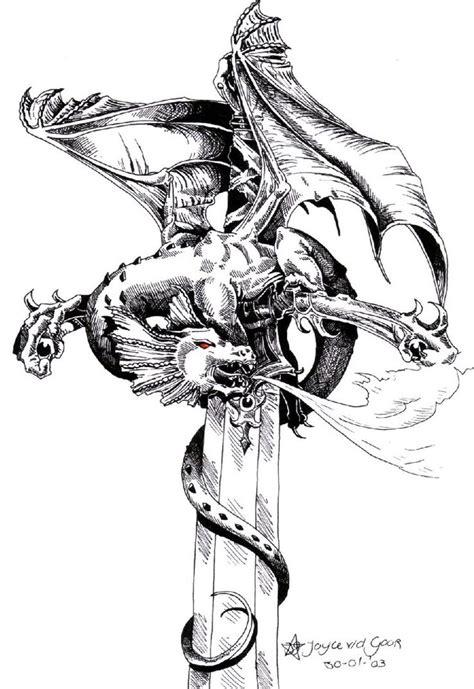 dragon tattoo napier dragon sword tattoo image deviantart more like half