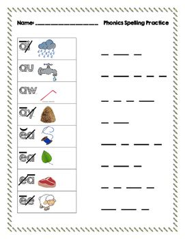 Saxon Phonics And Spelling K Worksheets by Spelling Practice Using Saxon Phonics Coding By Monahan