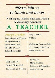teachers day invitation card templates invitation letter for teachers day celebration www