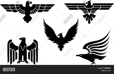 eagle symbols stock vector amp stock photos bigstock