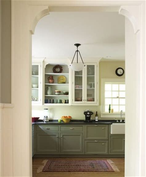 Kitchen Cabinets Lower Light by Modern Craftsman Kitchen Lower Cabinets With Light Floor Counters And White