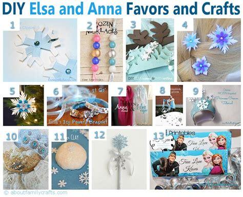 frozen diy crafts 75 diy frozen birthday ideas about family crafts