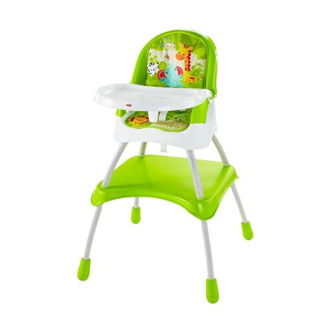 jual fisher price 4in1 high chair kursi makan bayi