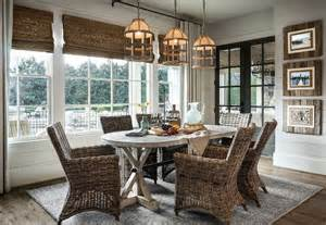style dining room coastal farmhouse style dining room home bunch