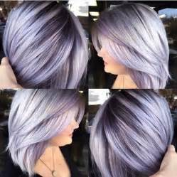 shag haircut brown hair with lavender grey streaks best fresh hair colour ideas for dark hair popular haircuts