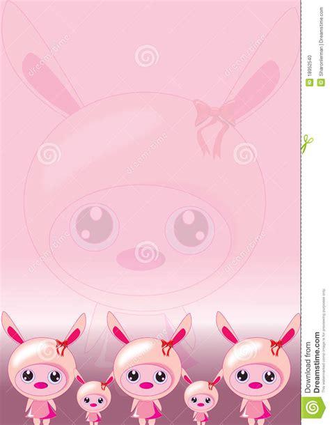 wallpaper pink rabbit bunny pink wallpaper stock photo image 18952540