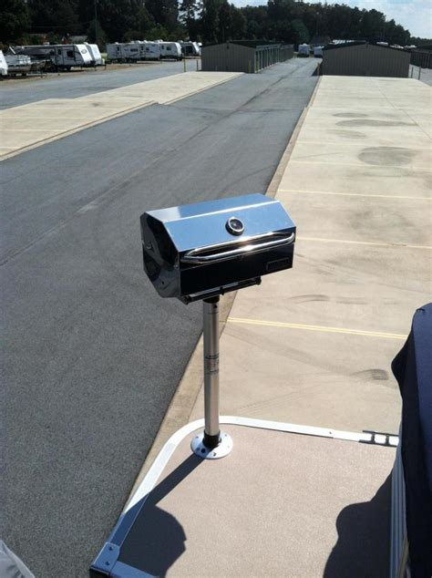 pontoon boat owners forum magma newport series ir grill grill install gallery