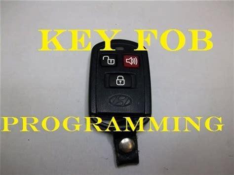 programming keyfob    hyundai santa fe  years